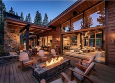 Modern mountain house perfect for entertaining in Martis Camp - Die Architektur - Architecture