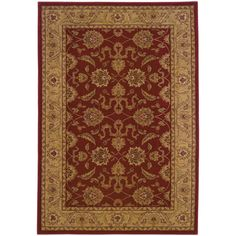 Style Haven Ellington Beige Traditional Area Rug