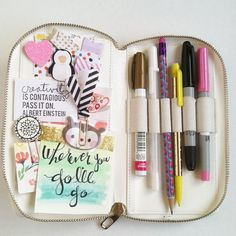 janettelaneblog: I can't get over how amazing this LoveDoki case is So fun filling it up...