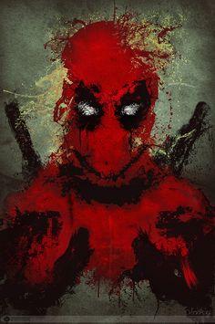 art,арт,красивые картинки,Deadpool,Дэдпул, Уэйд Уилсон,Marvel,Вселенная Марвел,фэндомы,Hersson Piratoba