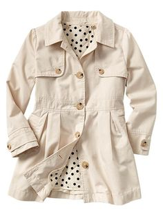 Shop the latest styles in girls' clothing at Gap, where clothes are fun, stylish and comfortable – the way it's supposed to be. Chloe Fashion, Fashion 101, Kids Fashion, Pink Trench Coat, Cheap Kids Clothes, Little Fashionista, Girls Wardrobe, Little Doll, Autumn Winter Fashion