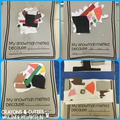 Crayons & Cuties In Kindergarten: 'Sneezy the Snowman' Visits Our Class!