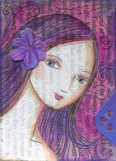 peggy aplSEEDS: My Latest Artist Trading Cards