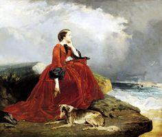 La emperatriz Eugenia en Biarritz