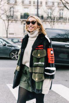 Уличная мода: Неделя моды в Париже сезона осень-зима 2018-2019: финальный стритстайл