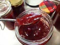 Plum and lemon jam