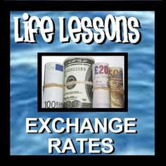 Dr. Sigma's Life Lessons are short math warmups that involve everyday tasks that students will need to understand as they grow up and become responsible citizens. Life Lessons - Exchange Rates contains 16 warmup sheets for students that involve calculating product and service costs in a variety of currencies.  The products, services and exchange rates used in the problems were taken from websites and were accurate at the time the document was created.