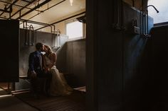 Industrial vibed wedding portraits by Helena and Laurent Couple Portraits, Wedding Portraits, Wedding Photos, Wedding Ideas, Warehouse Wedding, Anniversary Photos, City Girl, Wedding Moments, Girls In Love