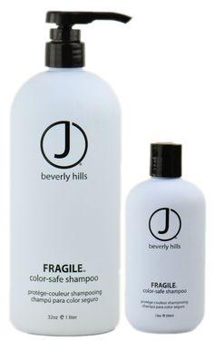 $14.39 J Beverly Hills Fragile Color-Safe Sulfate-Free Shampoo