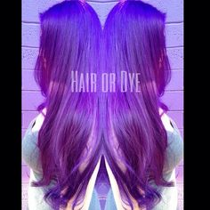 I am o dressed with the new color line I'm working with. Thank you @sparkscolor for making this Alternative Hairstylist a very happy girl!! Book your next color with me @hair_or_dye_salon 💜✂️/ #phx #dyeddoll #hairordye #purplehair #sparkscolor #vividcolor #longhair #purplepassion #alternativehair #coloredhair #instahair #hairenvy #dtphx #mermaidhair #hairstylist #colorist #behindthechair #btc_pics #modernsalon