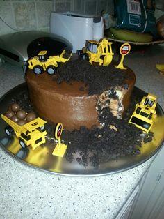 Construction birthday party....