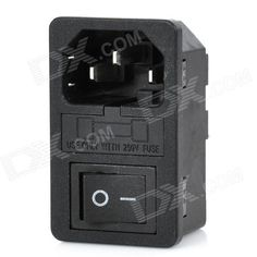 Model: 6035; Quantity: 1; Color: Black + silver; Material: Plastic + copper; Features: Current: 10A; Voltage: AC 250V; Application: DIY project; Packing List: 1 x Switch; http://j.mp/1lkqbzB