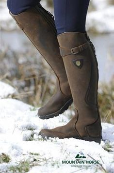 Mountain-Horse-Snowy-River-Fur-Lined-Long-Riding-Boots Mountain High Rider Legacy Equestrian Boots, Equestrian Outfits, Equestrian Style, Boot Over The Knee, Rain Boots, Shoe Boots, Horse Riding Boots, Horseback Riding Outfits, Boating Outfit