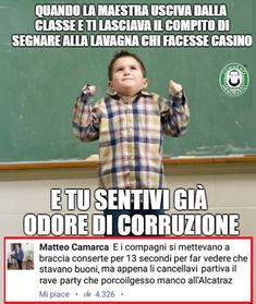 Cocco della maestra infame per te solo le lame! #commentimemorabili Funny Images, Funny Photos, You Funny, Funny Jokes, Memes Humor, Ecards Humor, Italian Memes, Funny Test, Serious Quotes