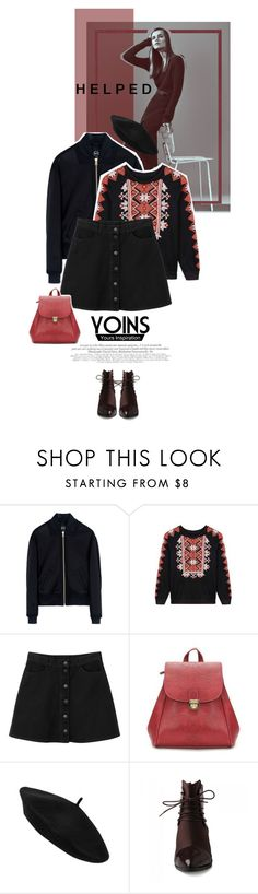 """""""Yoins.com #0010"""" by juhh ❤ liked on Polyvore featuring McQ by Alexander McQueen, Monki, JY Shoes and yoins"""