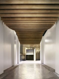 INSIDE WOODEN ROOF STRUCUTRE http://kkaa.co.jp/works/architecture/sysla-mademoiselle-bio-headquarters/