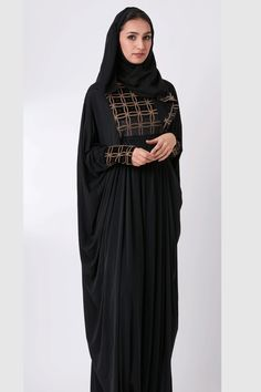 IMAN   Little Black Abaya