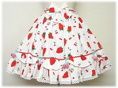 Sweet Berry Skirt