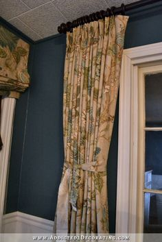 how to make double width lined pinch pleated drapery panels (page 2) and other great curtain etc. projects.