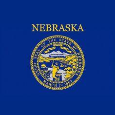 Smartphone Case - State Flag of Nebraska - Horizontal II
