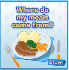 Where does your food come from? | Childrens\' books and ...