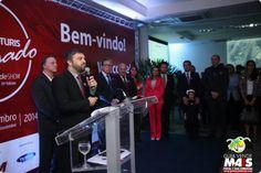 Ministro participa de abertura da feira de turismo de Gramado