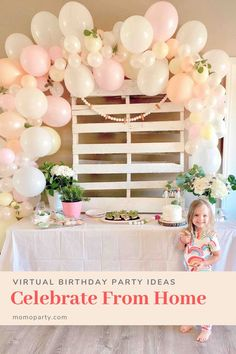 Celebrate From Home: Virtual Birthday Party Ideas And Tips Birthday Decorations At Home, Birthday Party At Home, Backyard Birthday, 30th Birthday Parties, 80th Birthday, Birthday Celebration, Birthday Ideas, Happy Birthday, Superhero Theme Party