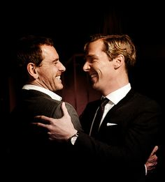 Michael Fassbender & Benedict Cumberbatch