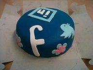 Hello Social Media cake!