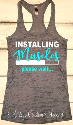 Lustige Fitness T-Shirts inspirierende von AshleysCustomApparel