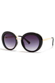 Chic-A-Boo Black Sunglasses at Lulus.com!