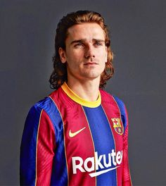 Antoine Griezmann, Fc Barcelona, Russia 2018, Football Players, Messi, Hairstyles, Jewels, Soccer Pics, Sports