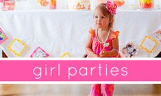 Girl Party Themes...that's my girl! Love TomKat!