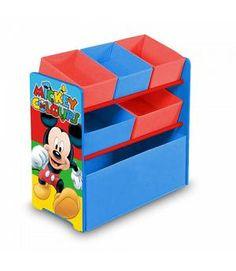 Venta Mickey Mouse organizador. Fabricado en madera y tela. ARDWD8330