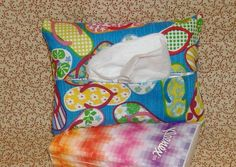 Flip Flops Tissue Pack Cover Holder free by AStitchinTime72, $2.75