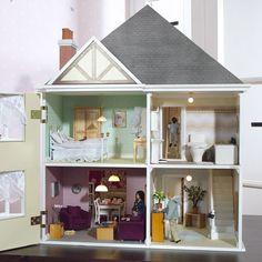 mountfield dolls house - front