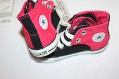 TODDLER-SIZE-7-CHUCK-TAYLOR-CONVERSE-SLIP-ON-COLLECTION-PINK-BLACK-NEW-CUTE