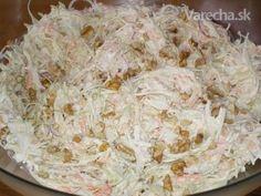 Zimný šalát - Recept Potato Salad, Cabbage, Grains, Rice, Potatoes, Vegetables, Ethnic Recipes, Food, Potato