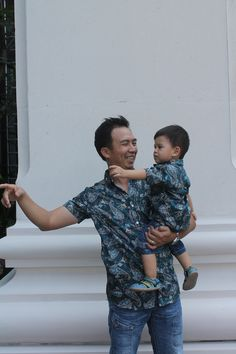 Atnic green for both daddy and son is available.  Visit www.kanahaya-world.com Instagram: kanahayacloth