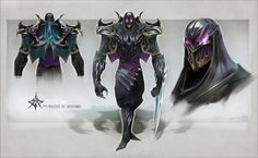 Zed, the Master of Shadows by eoinart.deviantart.com on @deviantART