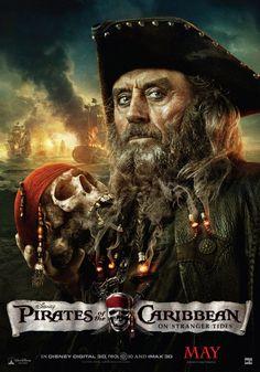 Pirates of the Caribbean On Stranger Tides movie poster