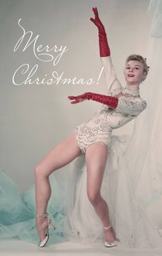 Vera-Ellen from White Christmas- Oh Mandy! There's a minister handy...