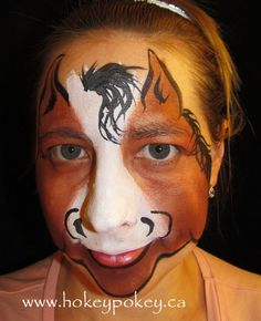 face painting for horse - Bing images Animal Face Paintings, Animal Faces, Face Painting Designs, Body Painting, Horse Face Paint, Centaur Costume, Horse Costumes, Fairy Costumes, Animal Makeup
