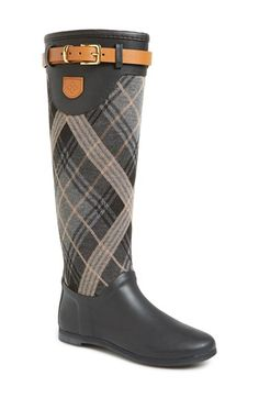 Free shipping and returns on däv 'Weston' Waterproof Tall Rain Boot (Women) at Nordstrom.com. A rounded-toe boot accented with a leather logo patch at the belted shaft is upgraded with däv's signature weatherproofing technology—there's no need to sacrifice style just because it's rainy outside.