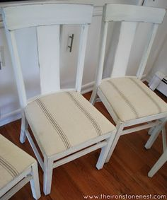 The Ironstone Nest: Farmhouse Chairs