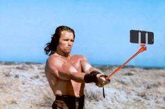 Conan selfie