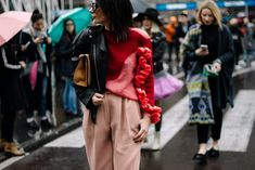 Street Style Milan Fashion Week Otoño Invierno 2016