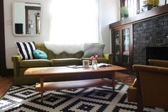 Thrift store finds and inexpensive touches refresh your old furniture