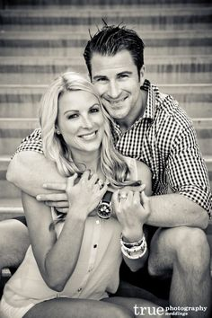 Featured Engagement Shoot: Working on our Fitness with Richelle  Eric / follow @True Photography Weddings