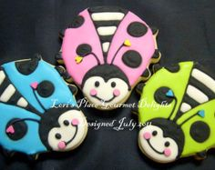 Fancy Free - LADY BUG Cookies - 1 Dozen